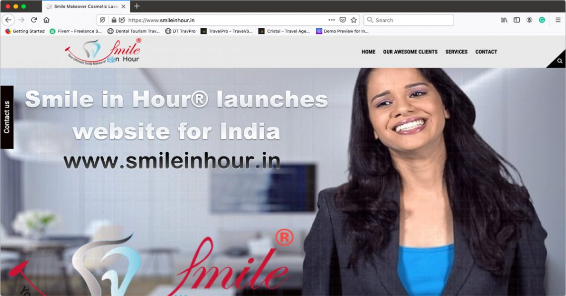 Smile in Hour® Smile Makeover Digital Smart Clinic launches website for India