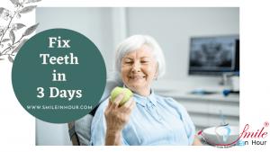 Fixed Teeth in 3 Days Price smile in Hour Ahmedabad, Mumbai, New Delhi, Chennai, Hyderabad, Kolkata, India