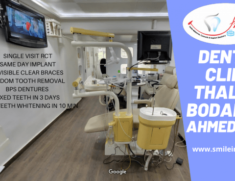 Dentist Best Dental Clinic Thaltej & Bodakdev by Smile in Hour®